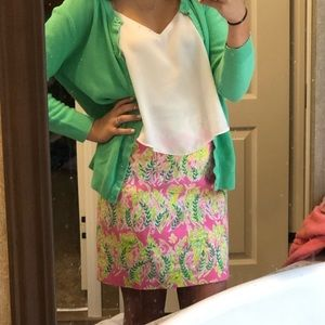 Lilly Pulitzer millionaires row skirt size 0